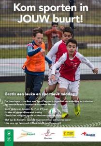 Flyer Sport in jouw Wijk Noord