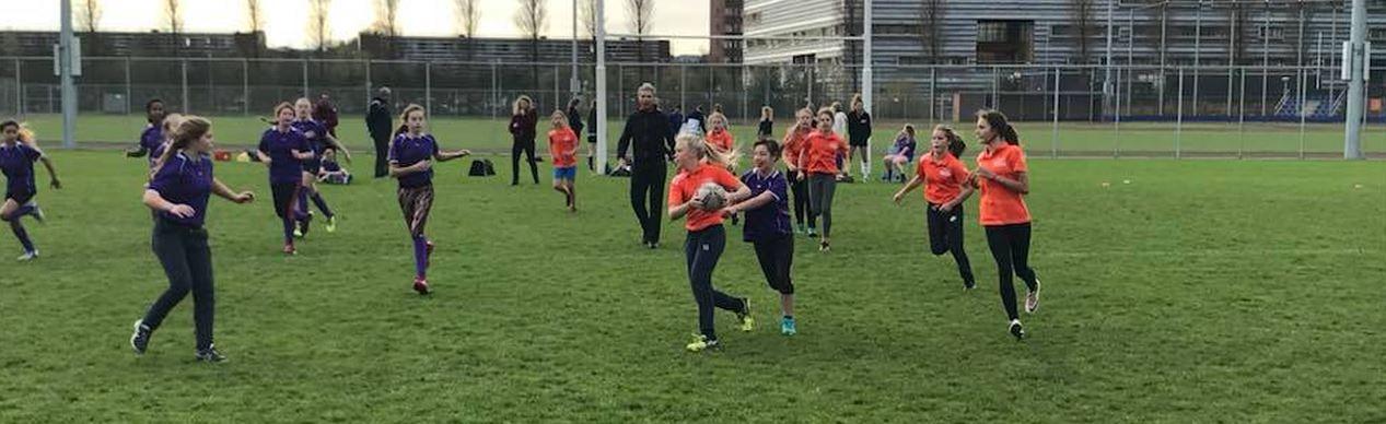 Rugbytoernooi voor voortgezet onderwijs
