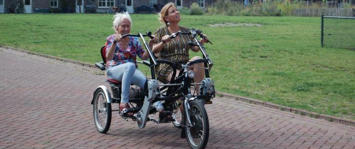 Duofietsen met een fietsmaatje