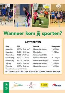 Flyer Sport in jouw Wijk Noord a