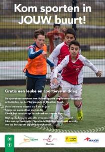 Flyer Sport in jouw Wijk Oost