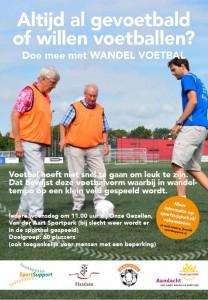 Voorkant flyer Wandel Voetbal