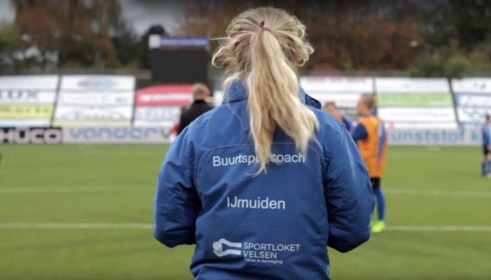 Buurtsportcoaches in de gemeente Velsen voor meer kinderen in beweging!