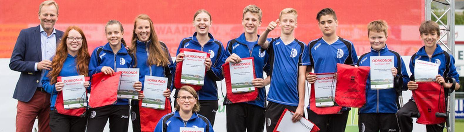 300 sporters gehuldigd in Hillegom