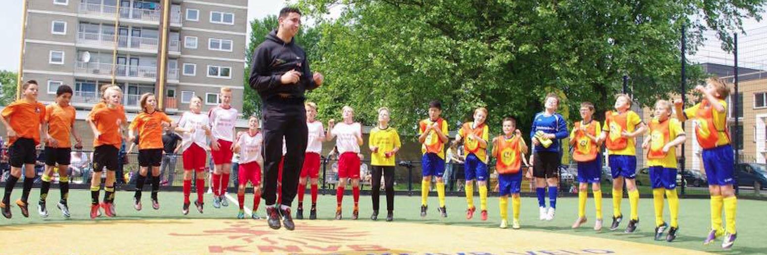 Ajax Foundation en SportSupport vinden elkaar voor de jeugd