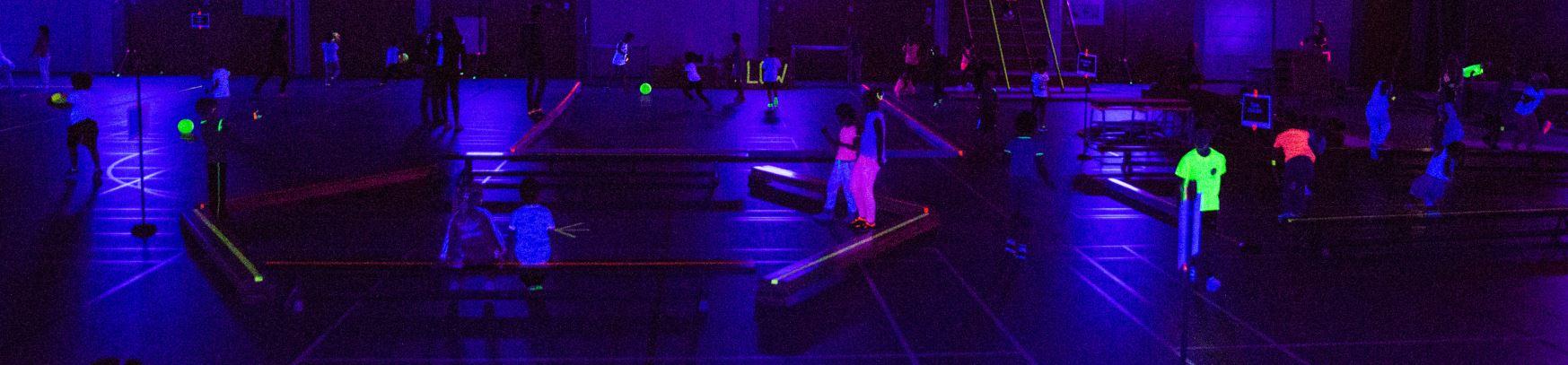 Sporten in het donker!