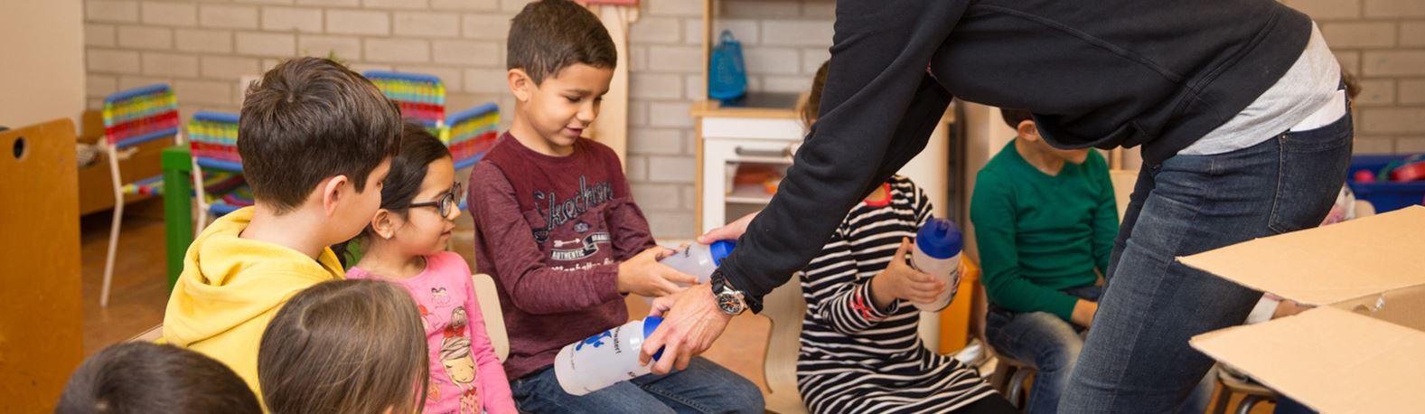 Zuiderpolder school start met Drinkwater