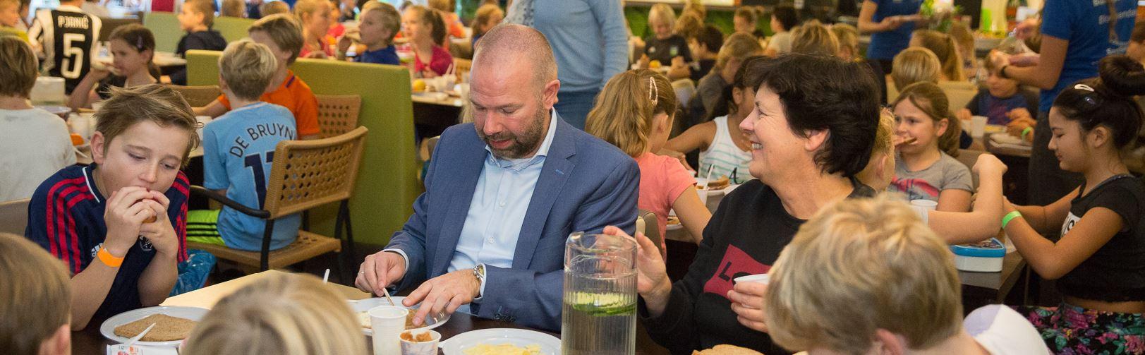 Ruim 200 kinderen bij Sportontbijt in Heemstede