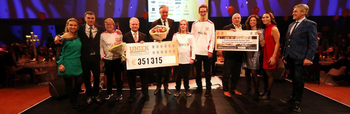 Winnaars Uniek Sporttalent gehuldigd tijdens Gehandicaptensport Gala