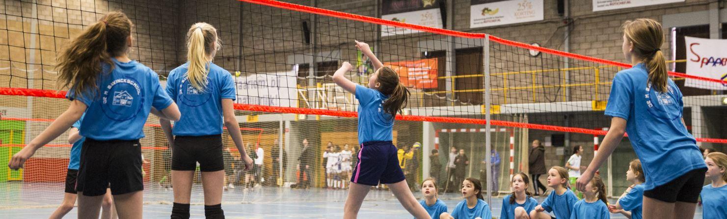 Haarlems School Volleybal Toernooi weer groot succes!