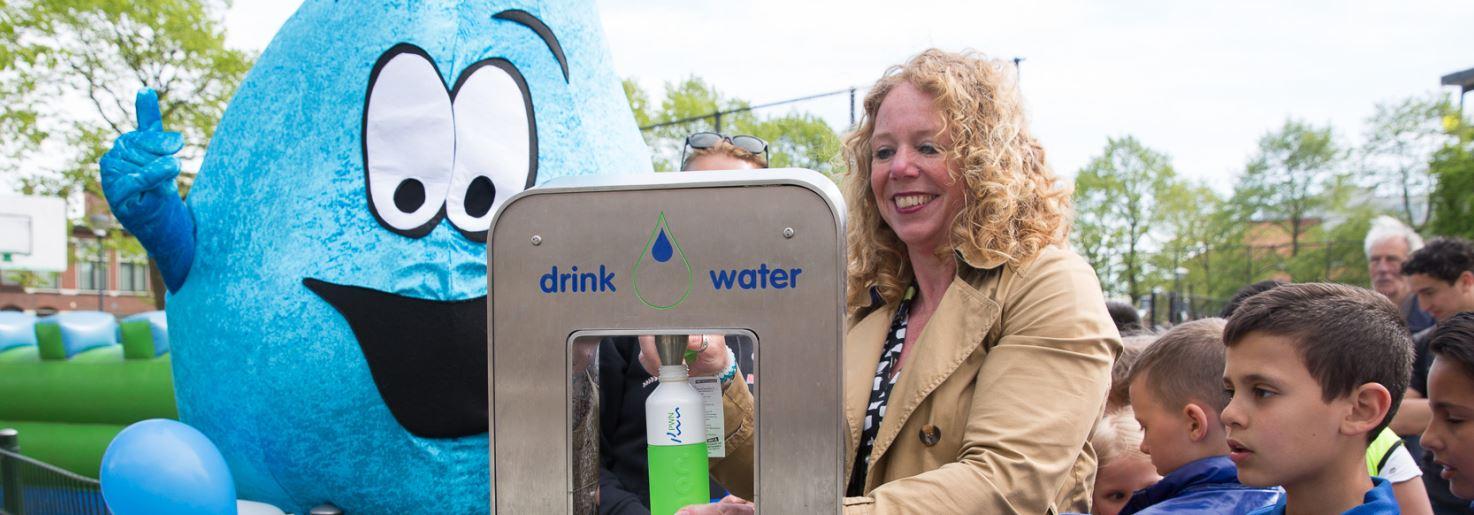 Gratis water bij watertappunten