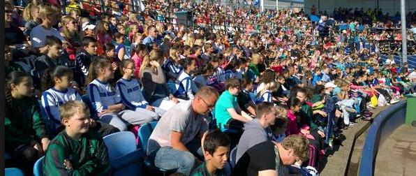 Carlien Dirkse van de Heuvel opent Olympische Dag Haarlem