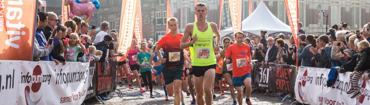 Haarlems mooiste in de nazomer…  de Vitaminstore Halve van Haarlem!