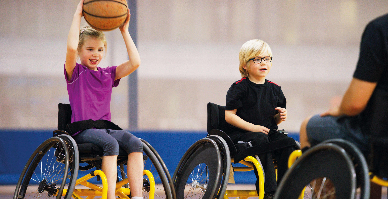 Sporten en bewegen, de normaalste zaak van de wereld ook met een handicap