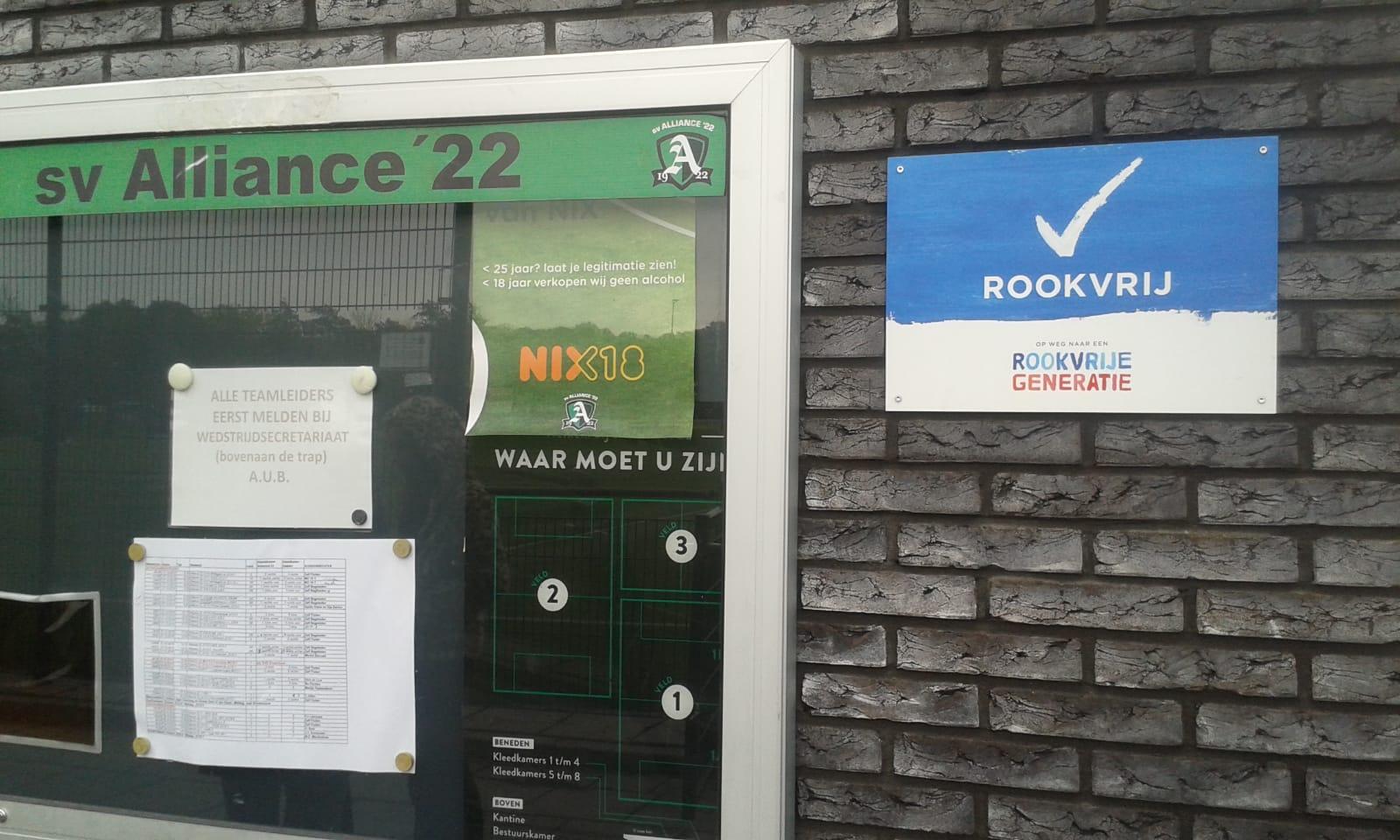 Sportclubs in Haarlem op naar een rookvrije generatie!
