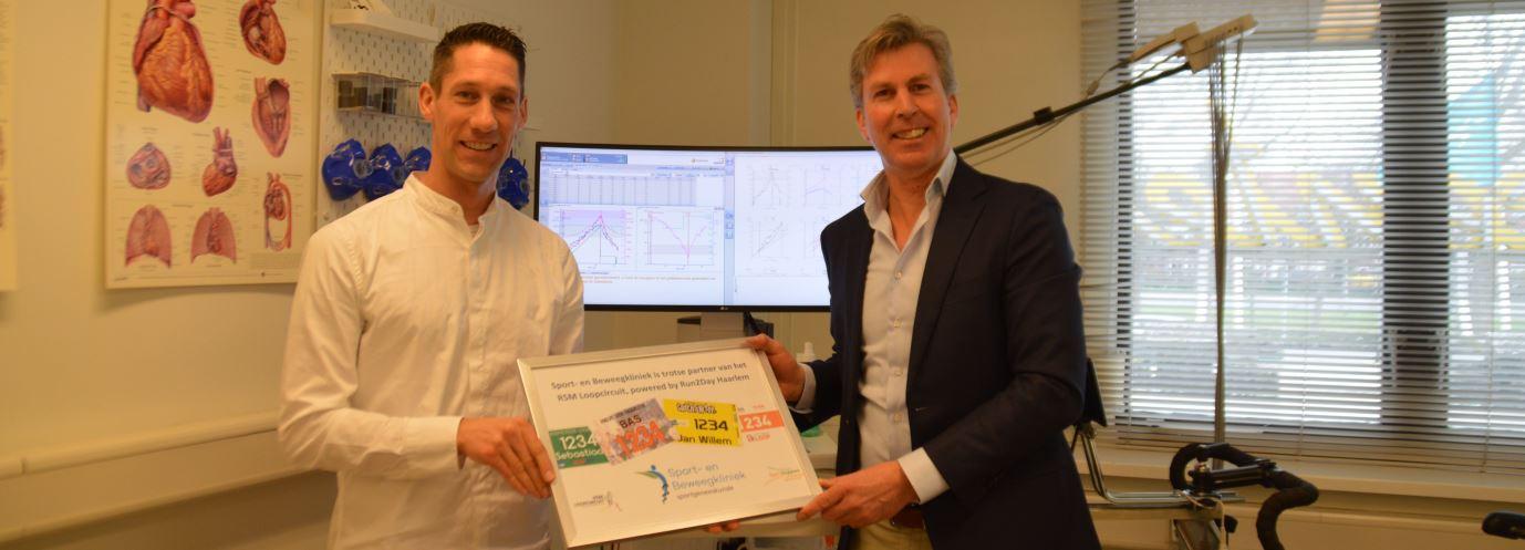 Sport- en Beweegkliniek verlengt samenwerking RSM Loopcircuit, powered by Run2Day Haarlem