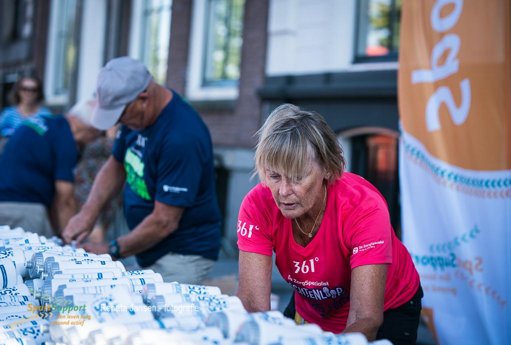 Vrijwilliger met een passie voor hardlopen
