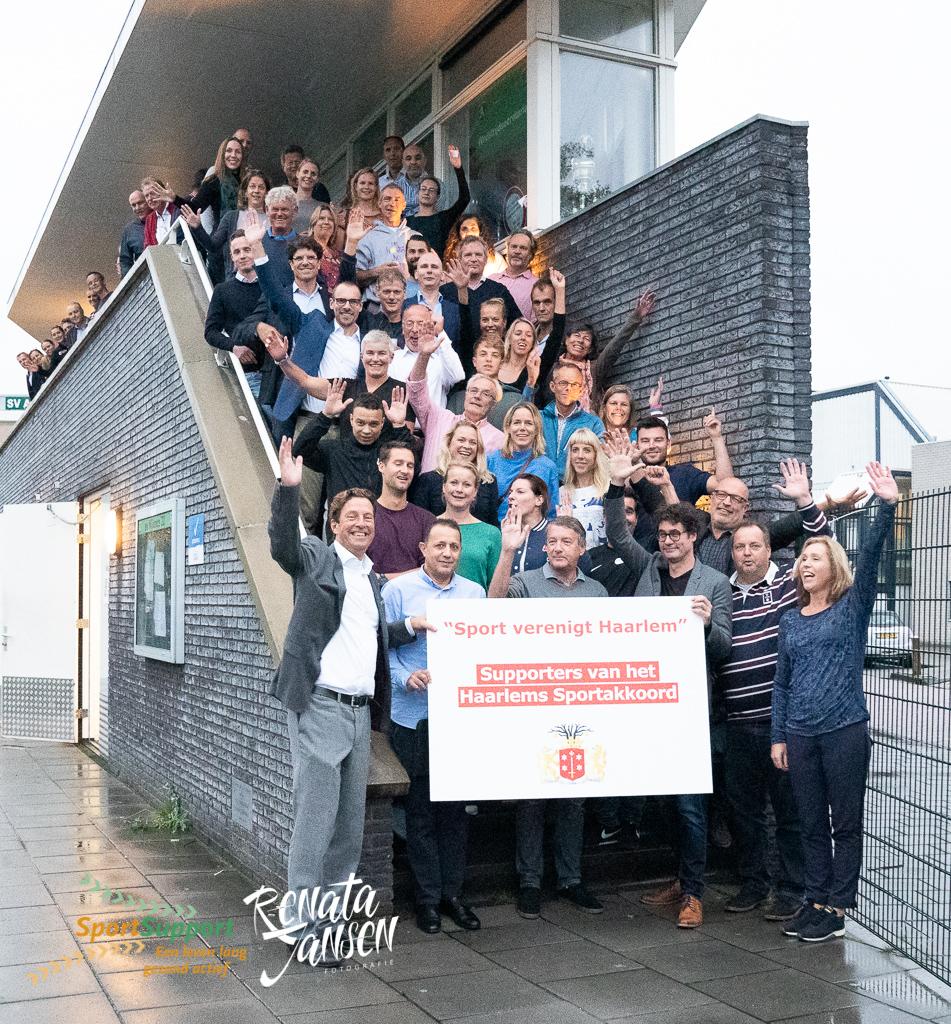 Haarlem aan de slag met lokaal Sportakkoord