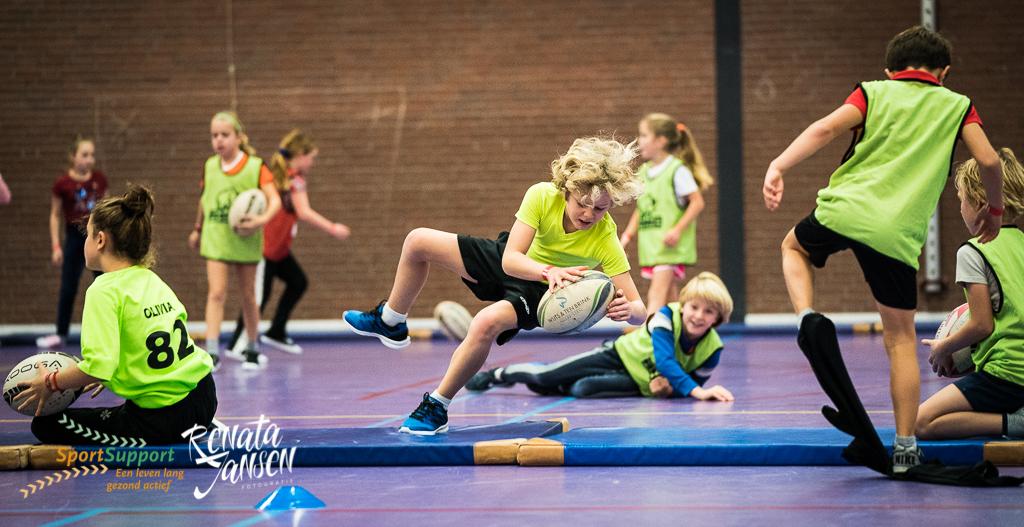 230 enthousiaste kinderen bij Sportontbijt in Heemstede