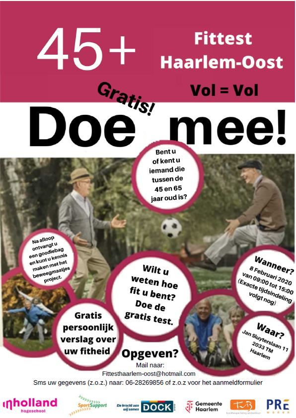 Fittest voor inwoners Haarlem-Oost
