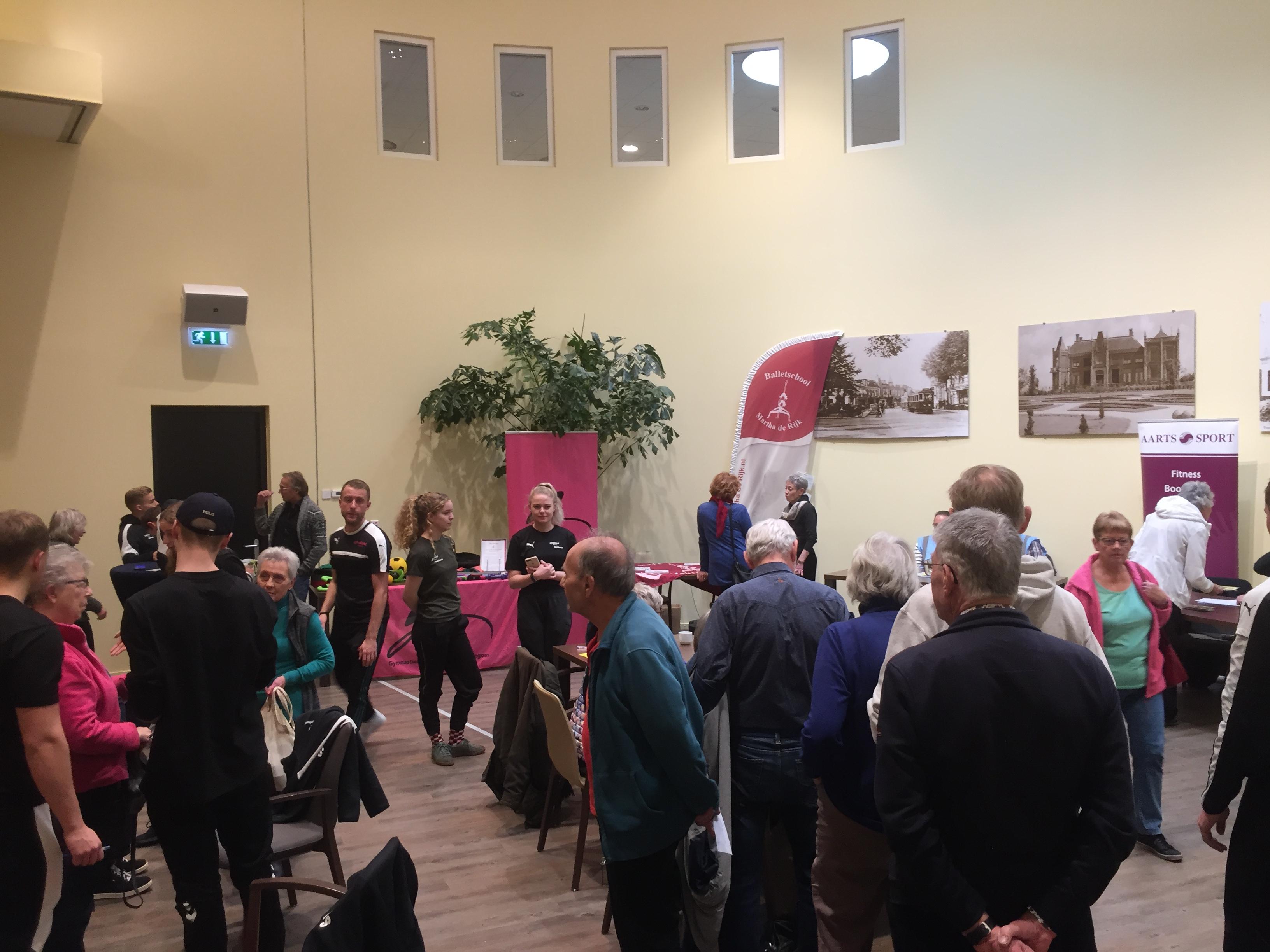 Senioren ervaren warm welkom tijdens eerste Fittest in Hillegom
