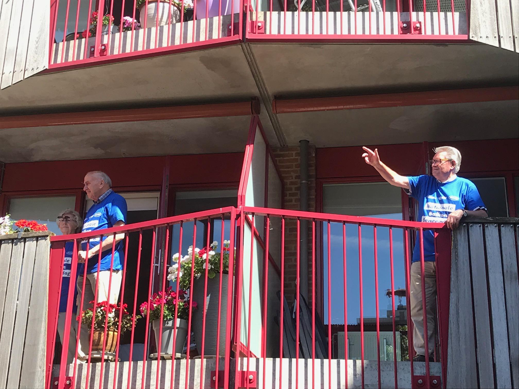 Kijken, bewegen en winnen: De Nationale balkon beweegdag