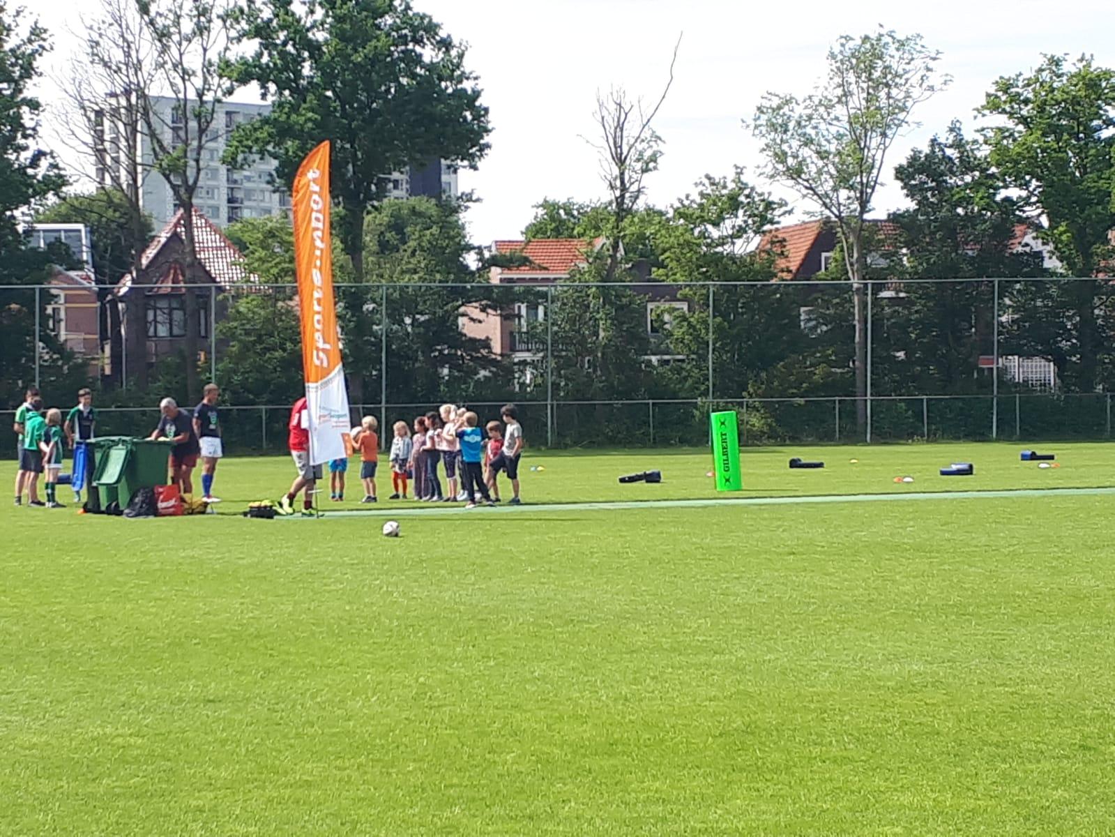 Geslaagde sportmiddagen bij Eindenhout Sportpark