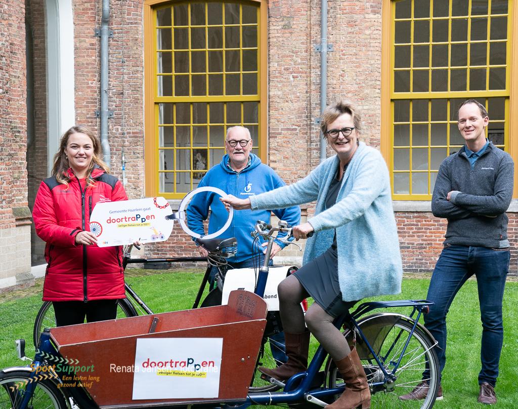 Haarlem 'Fietsen tot je 100ste'